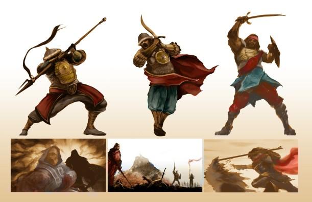 Turk warriors